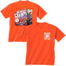 Clemson Tigers College Football Playoff 2016 National Champions Trophy T-Shirt - Orange