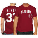 Tommy Hunter Alabama Crimson Tide Original Retro Brand Baseball Name & Number T-Shirt - Crimson