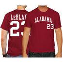 Wade LeBlanc Alabama Crimson Tide Original Retro Brand Baseball Name & Number T-Shirt - Crimson
