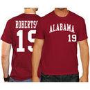David Robertson Alabama Crimson Tide Original Retro Brand Baseball Name & Number T-Shirt - Crimson