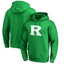 Rutgers Scarlet Knights Fanatics Branded St. Patrick's Day White Logo Pullover Hoodie - Kelly Green