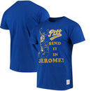 Jerome Lane Pitt Panthers Original Retro Brand Player T-Shirt - Royal