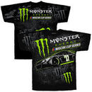 Checkered Flag Monster Energy NASCAR Cup Series Total Print T-Shirt - Black