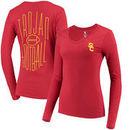 USC Trojans Women's Keelin Long Sleeve T-Shirt – Cardinal