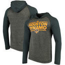 Houston Dynamo adidas Dassler Tactical Long Sleeve Hooded climalite T-Shirt - Gray