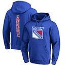 Mats Zuccarello New York Rangers Fanatics Branded Backer Pullover Hoodie - Royal