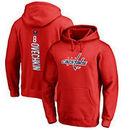 Alexander Ovechkin Washington Capitals Fanatics Branded Backer Pullover Hoodie - Red