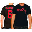 Josh Harrison Cincinnati Bearcats Original Retro Brand Baseball Name & Number T-Shirt - Black
