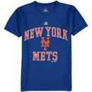 New York Mets Majestic Youth City Wide Cool Base T-Shirt - Royal