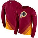 Washington Redskins Nike Sideline Legend Prism Performance Long Sleeve T-Shirt - Burgundy