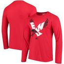 Eastern Washington Eagles adidas Logo Ultimate Performance Long Sleeve T-Shirt - Red