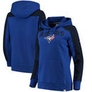 Toronto Blue Jays Fanatics Branded Women's Iconic Pullover Hoodie - Royal/Black