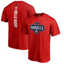 Elena Delle Donne Washington Mystics Fanatics Branded Backer Name and Number T-Shirt - Red