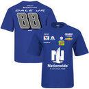 Dale Earnhardt Jr. Hendrick Motorsports Team Collection Youth Nationwide Uniform T-Shirt - Royal