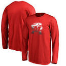 Maryland Terrapins Fanatics Branded Youth Gradient Logo Long Sleeve T-Shirt - Red