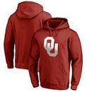Oklahoma Sooners Fanatics Branded Gradient Logo Pullover Hoodie - Cardinal