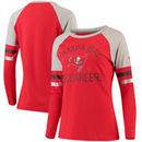 Tampa Bay Buccaneers NFL Pro Line by Fanatics Branded Women's Iconic Long Sleeve T-Shirt - Red/White