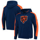 Chicago Bears NFL Pro Line by Fanatics Branded Iconic Pullover Hoodie – Navy/Orange