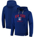 New York Rangers Fanatics Branded Indestructible Pullover Hoodie - Blue