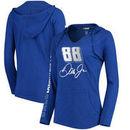 Dale Earnhardt Jr. Concepts Sport Sweep Hooded T-Shirt - Royal