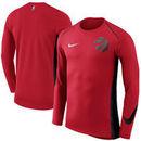 Toronto Raptors Nike Elite Shooter Performance Long Sleeve T-Shirt – Red