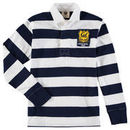 Cal Bears Wes & Willy Youth Long Sleeve Rugby Polo Shirt - Navy