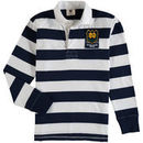 Notre Dame Fighting Irish Wes & Willy Youth Long Sleeve Rugby Polo Shirt - Navy