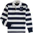 Penn State Nittany Lions Wes & Willy Youth Long Sleeve Rugby Polo Shirt - Navy