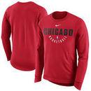Chicago Bulls Nike Practice Fleece Performance Sweatshirt – Red