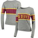 Arizona State Sun Devils League Women's Intramural Long Sleeve Tri-Blend T-Shirt - Heathered Gray