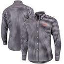 Chicago Bears Antigua National Woven Long Sleeve Button-Down Shirt - Navy/White