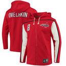 Alexander Ovechkin Washington Capitals Fanatics Branded Breakaway Full-Zip Hoodie - Red