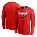 Dayton Flyers Fanatics Branded 2017 Atlantic 10 Women's Basketball Tournament Champions Long Sleeve T-Shirt - Red