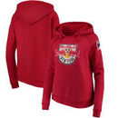 New York Red Bulls 5th & Ocean by New Era Women's Brushed Fleece Pullover Hoodie - Red