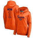 Phoenix Suns Fanatics Branded Women's Number 1 Mom Plus-Size Pullover Hoodie - Orange