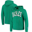 Philadelphia Eagles Mitchell & Ness Play Clock Pullover Hoodie – Kelly Green