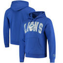 Detroit Lions Mitchell & Ness Play Clock Pullover Hoodie – Blue