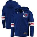 New York Rangers Fanatics Branded Breakaway Full-Zip Hoodie - Blue