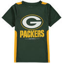 Green Bay Packers NFL Pro Line by Fanatics Branded Youth Team Lockup Colorblock T-Shirt - Green/Gold
