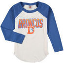 Denver Broncos Junk Food Youth Raglan Long Sleeve T-Shirt - White