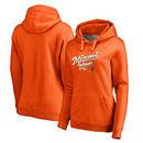 Miami Hurricanes Fanatics Branded Women's Plus Sizes Team Mom Pullover Hoodie - Orange