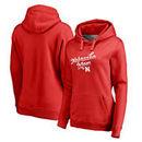 Nebraska Cornhuskers Fanatics Branded Women's Plus Sizes Team Mom Pullover Hoodie - Red