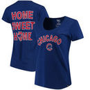 Chicago Cubs '47 Women's Club Scoop Neck T-Shirt - Royal