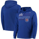 Chicago Cubs Majestic Midweight Majestic Fierce Favorite Pullover Hoodie – Royal