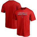 Louisville Cardinals Fanatics Branded True Sport Basketball T-Shirt - Red