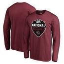 South Carolina Gamecocks Fanatics Branded 2017 NCAA Women's Basketball National Champions Official Logo Long Sleeve T-Shirt - Ga