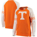 Tennessee Volunteers Fanatics Branded Women's Iconic Sleeve Stripe Sweatshirt - Tennessee Orange/Gray