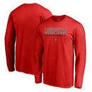 Louisville Cardinals Fanatics Branded True Sport Basketball Long Sleeve T-Shirt - Red