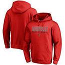 Louisville Cardinals Fanatics Branded Basketball True Sport Pullover Hoodie - Red