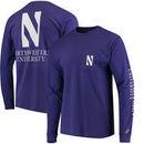 Northwestern Wildcats League Vintage Wash Pocket Long Sleeve T-Shirt – Purple